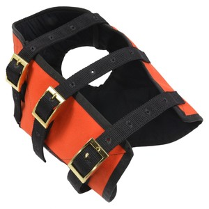 HHD 防牙ベスト 猟犬用 BAY VEST 狩猟 ケブラー3層構造 [ Lサイズ ] ドッグウエア BayVEST ベイベスト ハンティング オレンジ 安全ベスト