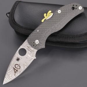 Spyderco 折りたたみナイフ NATIVE5 40周年記念モデル 数量限定 C41CF40TH スパイダルコ ロックバック式 折り畳みナイフ フォルダー フォールディングナイフ ホールディングナイフ