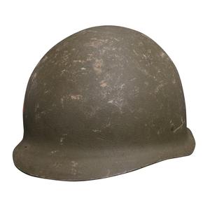 1956年に米軍のM1ヘルメットを基に作られたM56ヘルメット ドイツ軍放出品 ヘルメット M56 スチール製 前期型 ネット無し 独軍 西ドイツ軍 軍払い下げ品 ミリタリーヘルメット テッパチ スチールヘルメット 鉄鉢 コンバットヘルメット ミリタリーサープラス 百貨店 鉄帽 戦闘用ヘルメット ミリタリーグッズ 新作通販
