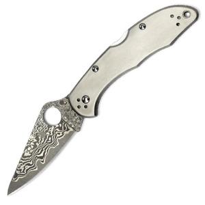 SPYDERCO デリカ4 折りたたみナイフ チタン C11TIPD スパイダルコ 折り畳みナイフ フォルダー フォールディングナイフ ホールディングナイフ Delica4