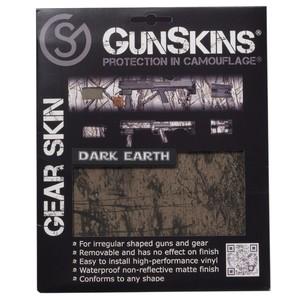 GunSkins 20×125cm シングルシート 保護フィルム ギアスキン [ ダークアース ] ガンスキンズ 保護ラップ ラッピングシート シール テープ 迷彩テープ Gear