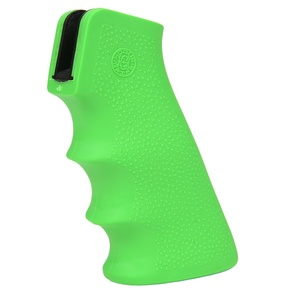 HOGUE hand grip for AR15/M16 rubber [zombie green Hogue rubber grip for rifles custom parts sabage supplies