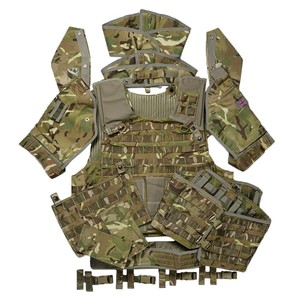 イギリス軍放出品 オスプレイ MK4 ボディアーマーセット MTP迷彩 [ 200/116 ] OSPREY プレートキャリア ミリタリー サバゲー 装備品