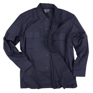 5.11タクティカル TDU 長袖シャツ 72054 [ ダークネイビー / Sサイズ ] TDUシャツ ミリタリーシャツ ワイシャツ 長そで アーミーシャツ