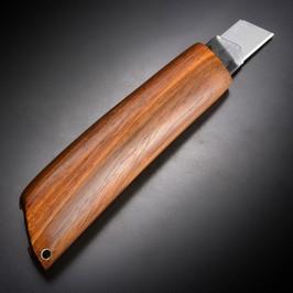 かわいい 大型 紫檀 木製カッターナイフ 後藤渓 シタン ハンドメイド
