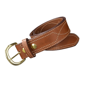 ビアンキ B9ベルト 真鍮バックル 本革 シューターベルト [ 32インチ ] BIANCHI メンズ レディース 本革ベルト 紳士用 バックルベルト 皮ベルト ファッション