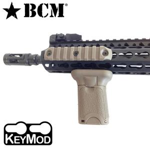 BCM 実物 バーティカルグリップ ショート keymod用 スプリング式クランプ [ フラットダークアース ] フォアグリップ ガングリップ トイガンパーツ サバゲー用品 ブラボーカンパニー