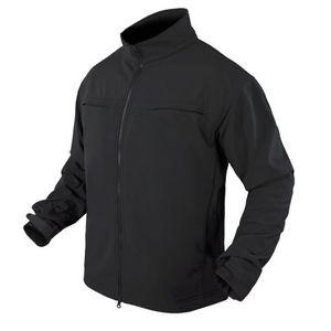コンドル COVERT ソフトシェルジャケット IDパネル付き [ ブラック / Mサイズ ] CONDOR フィールドジャケット アーミージャケット メンズ 上着