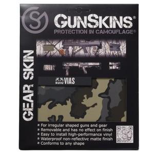 GunSkins 20×125cm シングルシート 保護フィルム ギアスキン [ KUIU_VIAS ] ガンスキンズ 保護ラップ ラッピングシート シール テープ 迷彩テープ Gear