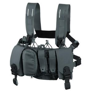 Direct Action チェストリグ THUNDERBOLT 実物 ARマグ4本収納 [ シャドーグレー ] ダイレクトアクション STANAG P-MAG M14 AK SCAR 装備品 サバゲー サバゲー装備