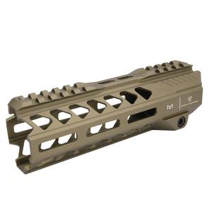 Strike Industries ハンドガード Strike Rail 7 MLOK AR-15用 [ フラットダークアース ] ストライクインダストリーズ 実物 レールハンドガード Mロック レイルハンドガード 被筒