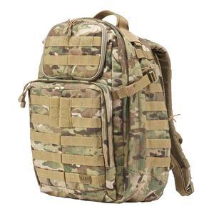 5.11タクティカル ラッシュ24 バックパック 58601 [ マルチカモ ] 5.11Tactical ダークアース RUSH24 | 511 リュックサック ナップザック デイパック カバン かばん 鞄 ミリタリー ミリタリーグッズ サバゲー装備