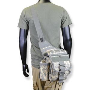 Rothco ベイルアウトバッグ アドバンス タクティカル MOLLE対応 ショルダーバッグ [ ACUデジタルカモ ] 2348 メッセンジャーバック かばん カジュアルバッグ カバン 鞄 ミリタリー 帆布 斜めがけバッグ