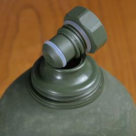 ヴィンテージインテリアサバゲー article サバゲーグッズ which there is no military-releasing article water bottle canteen thermos Norway forces forces sale product forces disposal product cover in