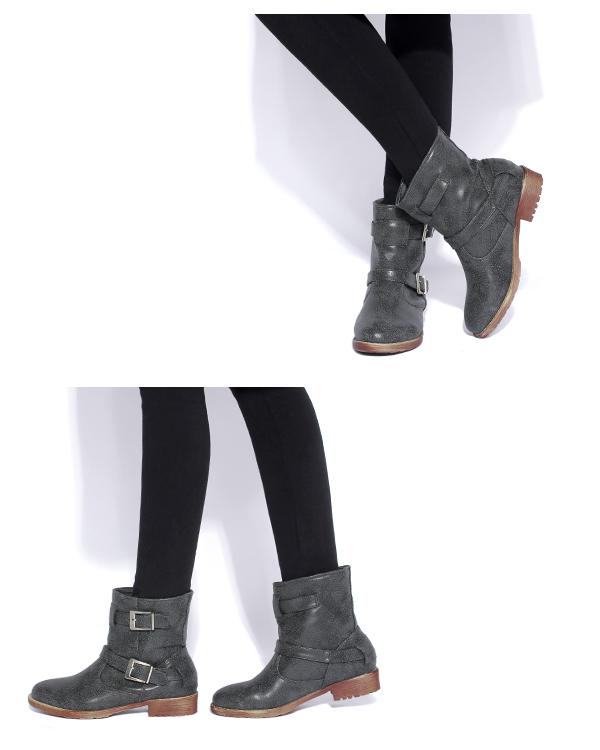 エンジニアブーツ ショートブーツ レディースブーツ25センチ エンジニア 大きい靴 st2 グレージュ グレー 黒 痛くない 大きいサイズ 歩きやすい ぺたんこ ローヒール フラットシューズ マニッシュ 質感 レディース靴 卒業式 袴ブーツ コスプレ