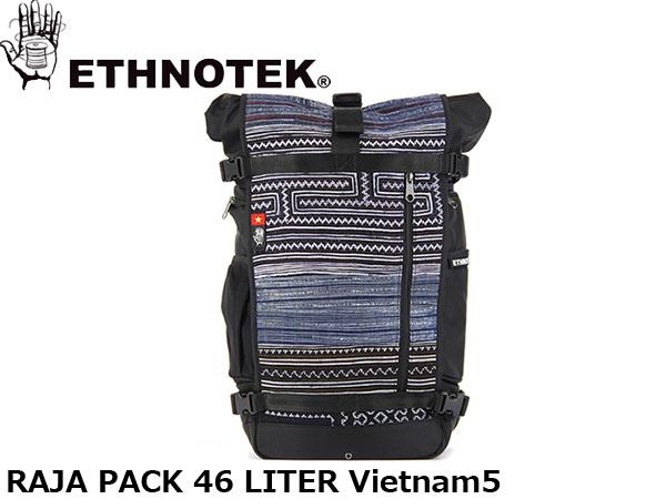 送料無料 エスノテック ETHNOTEK バックパック リュック Raja Pack 46 Vietnam5 ラージャ パック 46 ベトナム5 カバン 鞄 ETH19730016008014