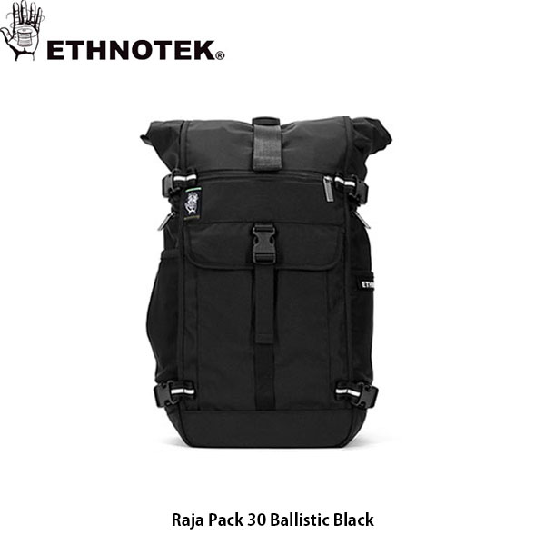 送料無料 エスノテック ETHNOTEK バックパック リュック ET Raja Pack 30 Ballistic Black ラージャパック 30 バリスティックブラック カバン 鞄 ETH19730032001000