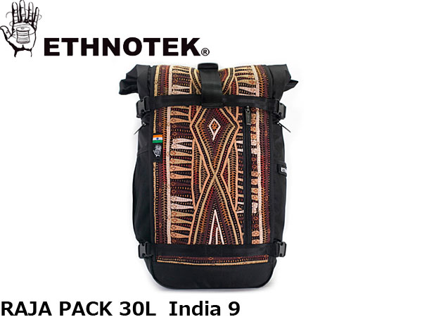送料無料 エスノテック ETHNOTEK バックパック リュック ET Raja Pack 30 India9 ラージャパック 30 インディア9 カバン 鞄 ETH19730032007000