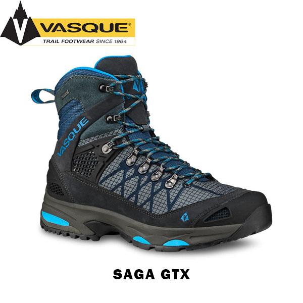 送料無料 バスク レディース マウンテンブーツ 登山靴 サーガGTX ゴアテックス 防水 トレッキング 登山 軽量 GORE-TEX Saga GTX VASQUE VAS12747851
