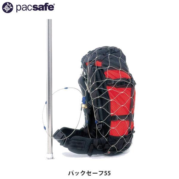 送料無料 パックセーフ ワイヤーロック Pacsafe パックセーフ55 12970004 PAC12970004000055 国内正規品