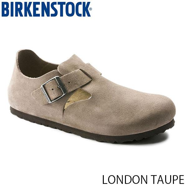 送料無料 ビルケンシュトック ロンドン 幅広 メンズ レディース ユニセックス シューズ 靴 スウェード レザー トープ LONDON TAUPE 幅広 SUEDE BIRKENSTOCK GS1010503 国内正規品
