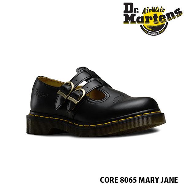 送料無料 ドクターマーチン MARY JANE 8065 ストラップ シューズ レディース メリージェーン BLACKSMOOTH MARY JANE 8065 ブラック 黒 女性用 Dr.Martins DRM12916 国内正規品