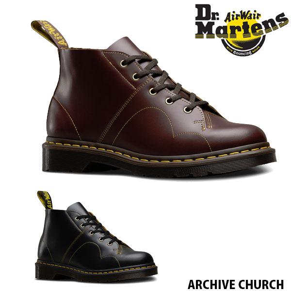 Dr.Martens (ドクターマーチン) ARCHIVE CHURCH MONCKY BOOT 16054001 BLACK