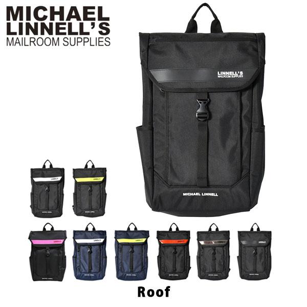 送料無料 マイケルリンネル リュック Box Backpack 28L バックパック デイパック フラップ かぶせ おしゃれ 通勤 通学 メンズ レディース MICHAEL LINNELL ML-025 ML025 国内正規品