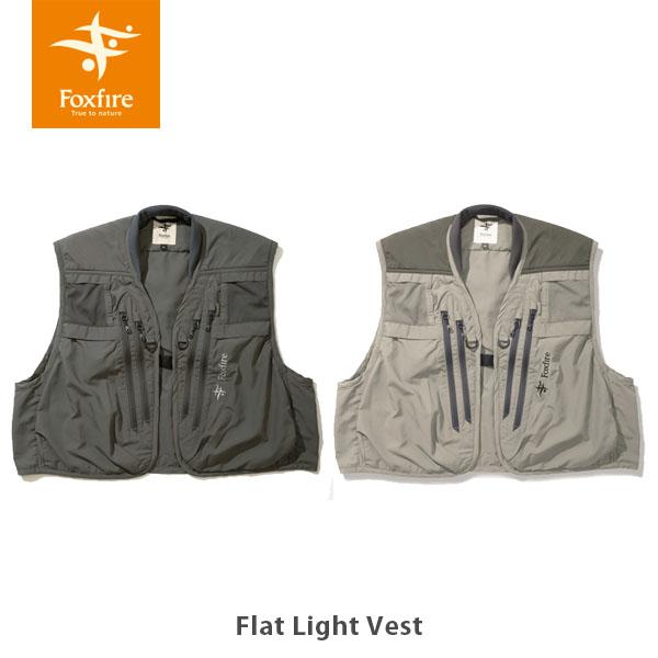 2021年春夏 送料無料 大注目 フォックスファイヤー Foxfire フラットライトベスト Flat Light 格安 Vest フィッシング 5010155 ストリーマー フィッシングベスト 釣り FOX5010155 ウェット 国内正規品