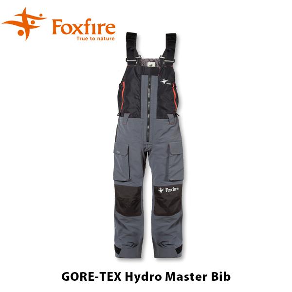 送料無料 フォックスファイヤー Foxfire メンズ GORE-TEX ハイドロマスター ビブ ゴアテックス ビブパンツ レインギア アウトドア 釣り フィッシング GORE-TEX FOX5014935