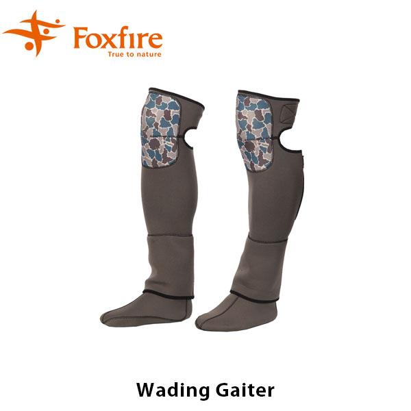 送料無料 フォックスファイヤー Foxfire メンズ ウェーディングゲーター 釣り フィッシングギア フィッシング 釣り具 Wading Gaiter 男性用 FOX5023777