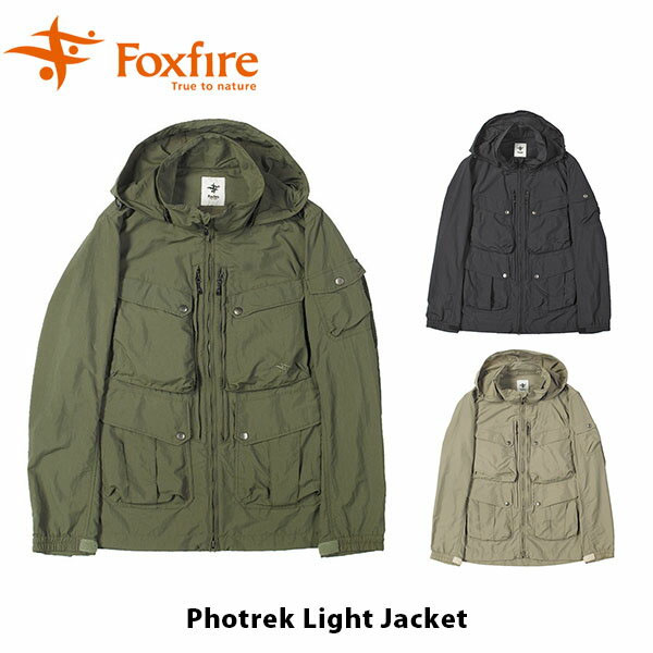送料無料 フォックスファイヤー Foxfire メンズ フォトレックライトジャケット アウター ジャケット ファッション ハイキング 登山 アウトドア キャンプ フェス FOX5213986