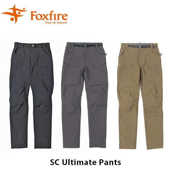 送料無料 フォックスファイヤー Foxfire メンズ SC アルティメット パンツ ニーパッド スコーロン 吸汗 速乾 UV 紫外線 防虫 虫よけ ファッション 登山 アウトドア キャンプ フェス 男性用 FOX5214847