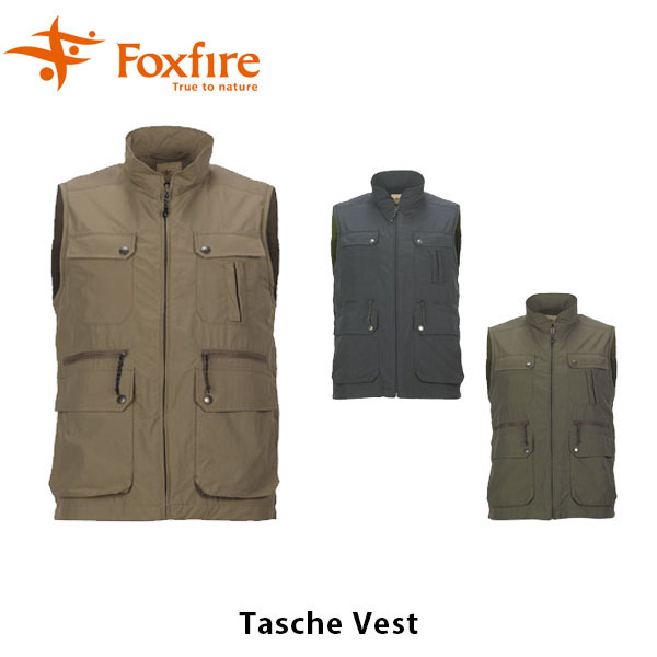 送料無料 フォックスファイヤー Foxfire メンズ タッシュベスト ベスト 登山 ハイキング トレッキング アウトドア キャンプ 男性用 TaSChe Vest FOX5610568