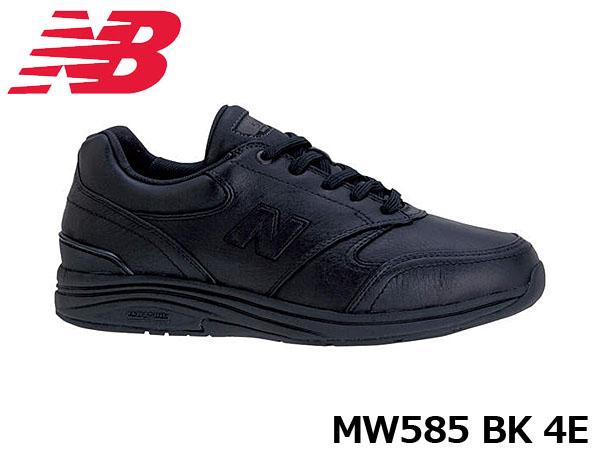 送料無料 ニューバランス メンズ スニーカー MW585 BK ワイズ4E 幅広 ウイズ4E 男性用 男性靴 BLACK ブラック 黒 シューズ NB New Balance MW585BK4E 国内正規品