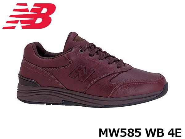 送料無料 ニューバランス メンズ スニーカー MW585 WB ワイズ4E 幅広 ウイズ4E 男性用 男性靴 WOOD BROWN シューズ NB New Balance MW585WB4E 国内正規品