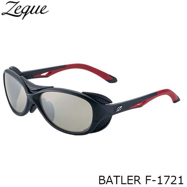 送料無料 Zeque ゼクー ジールオプティクス 偏光サングラス F-1721 BATLER BLACK×RED LITE SPORTS 釣り フィッシング アウトドア メンズ レディース 偏光グラス 偏光レンズ ZEAL OPTICS GLE4580274166610
