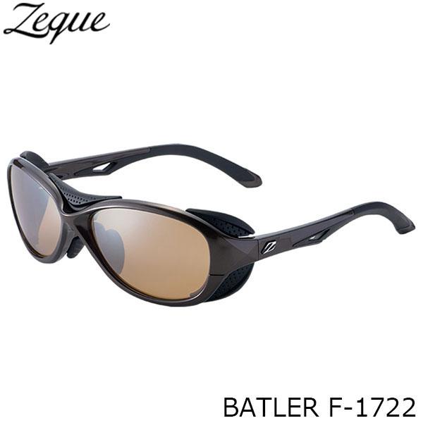 送料無料 Zeque ゼクー ジールオプティクス 偏光サングラス F-1722 BATLER BROWN×BLACK LUSTER ORANGE×SILVER MIRROR 釣り フィッシング アウトドア メンズ レディース 偏光グラス 偏光レンズ ZEAL OPTICS GLE4580274166627