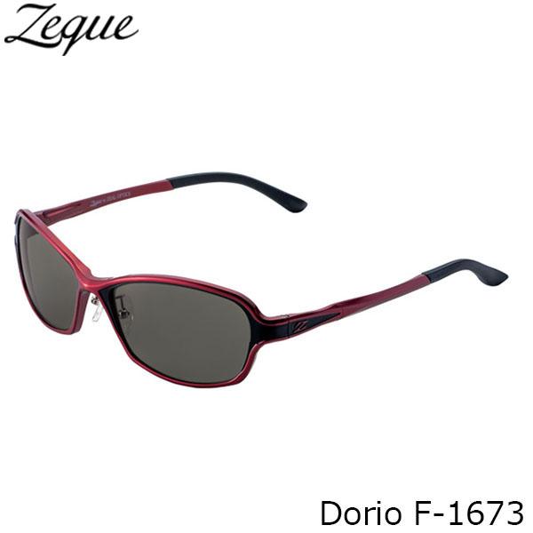 送料無料 Zeque ゼクー ジールオプティクス 偏光サングラス F-1673 Dorio RED×BLACK TRUEVIEW FOCUS 釣り フィッシング アウトドア メンズ レディース 偏光グラス 偏光レンズ ZEAL OPTICS GLE4580274167723
