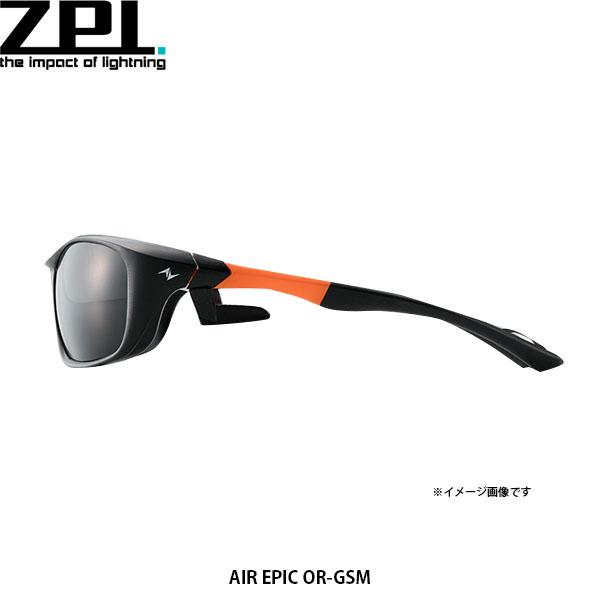 送料無料 ZPI 偏光サングラス AIR EPIC OR-GSM オレンジ×ライトグレーシルバーミラー ZPI4580168537182