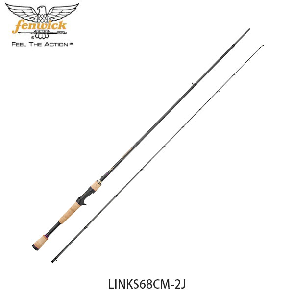 送料無料 フェンウィック fenwick バスロッド 釣り竿 リンクス LINKS68CM-2J キャスティングロッド 釣り竿 フィッシング 210211026850 FEN4549769086611