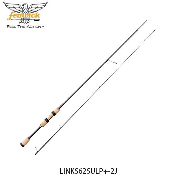 送料無料 フェンウィック fenwick バスロッド 釣り竿 リンクス LINKS62SULP+-2J スピニングロッド 釣り竿 フィッシング 210212026221 FEN4549769086635