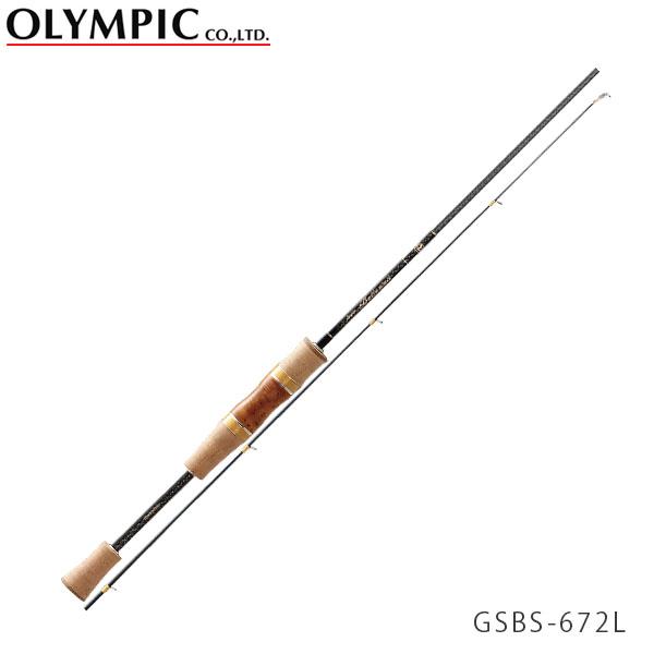 送料無料 OLYMPIC オリムピック 釣竿 エリアトラウト AREATROUT 18 Super BELLEZZA 18 スーパーベレッツァ GSBS-672L OLY4571105692613