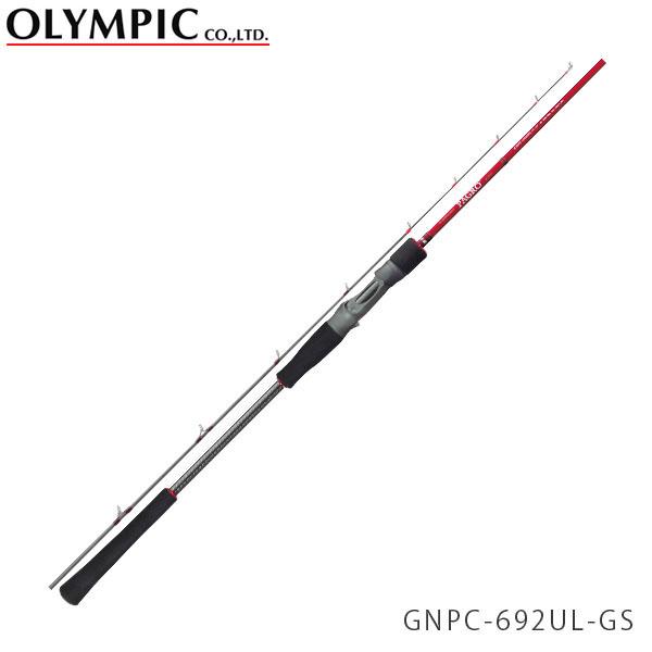送料無料 OLYMPIC オリムピック 釣竿 タイラバ TAIRUBBER Nuovo PAGRO ヌーボ パグロ GNPC-692UL-GS OLY4571105690206
