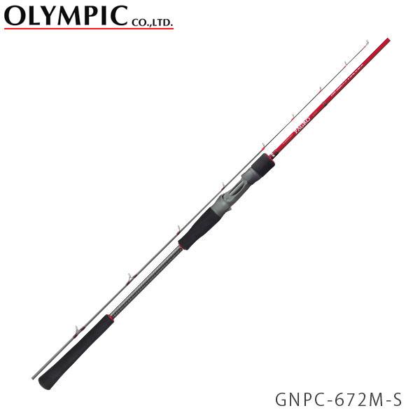 送料無料 OLYMPIC オリムピック 釣竿 タイラバ TAIRUBBER Nuovo PAGRO ヌーボ パグロ GNPC-672M-S OLY4571105690237