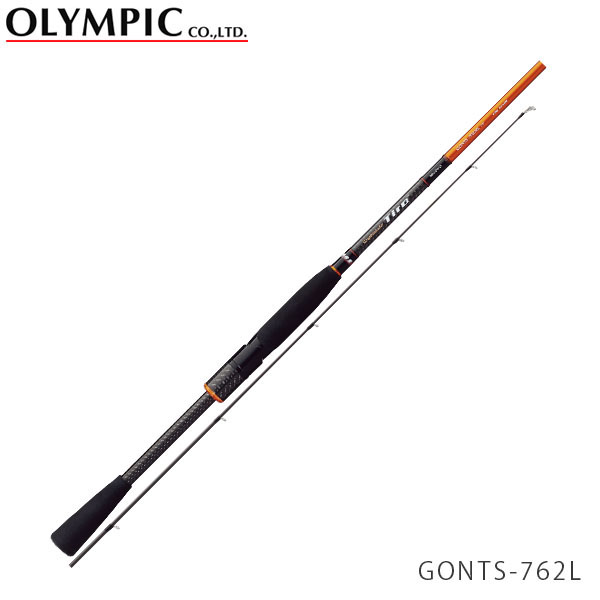送料無料 OLYMPIC オリムピック 釣竿 ショアキャスティング SHORE CASTING Nuovo Tiro ヌーボ ティーロ GONTS-762L OLY4571105690336