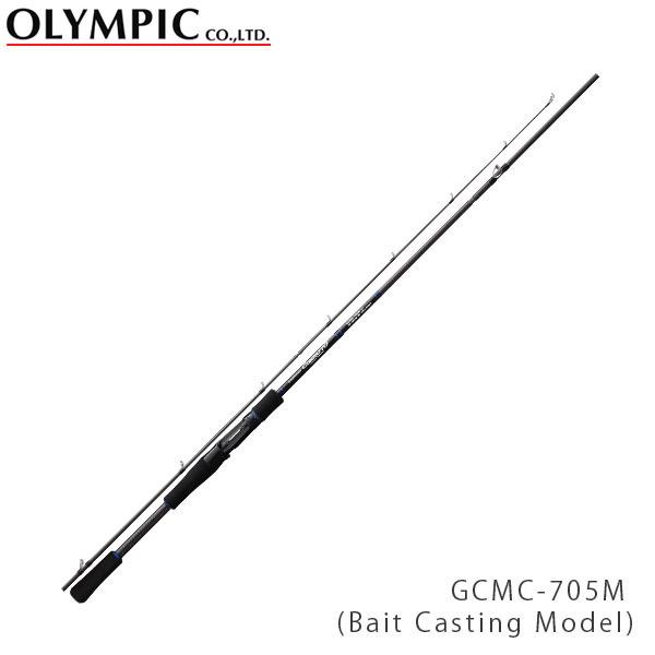 送料無料 OLYMPIC オリムピック 釣竿 コンパクト COMPACT ROD COMPATTO(Bait Casting Model) コンパット GCMC-705M OLY4571105691357