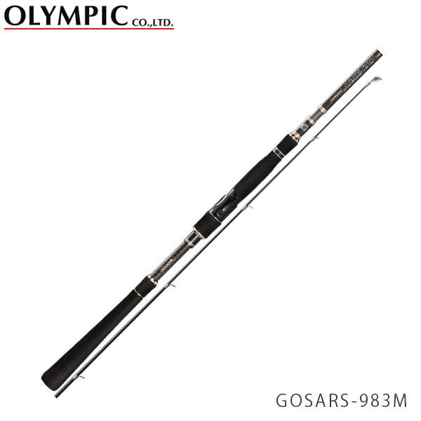 送料無料 OLYMPIC オリムピック 釣竿 シーバス SEABASS 18 Super ARGENTO 18 スーパーアルジェント GOSARS-983M OLY4571105692378