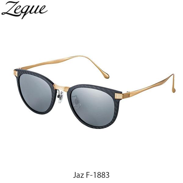 送料無料 Zeque ゼクー ジールオプティクス ZEAL OPTICS 偏光サングラス 偏光グラス 偏光レンズ Jaz F-1883 BLACK×GOLD TRUEVIEW FOCUS×SILVER MIRROR GLE4580274168324