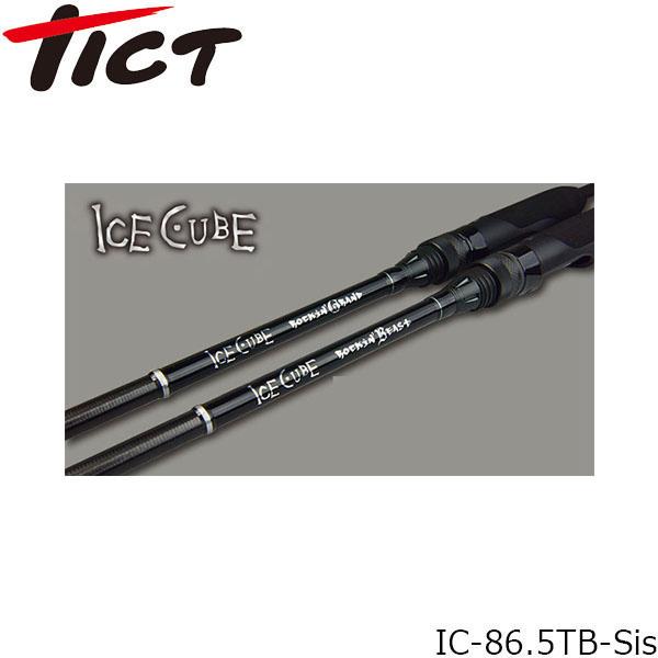 送料無料 ティクト TICT ロッド 竿 2pc ICE CUBE IC-86.5TB-Sis Rockin'Beast TIC4988540223508
